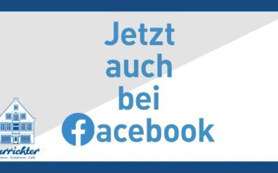 Jetzt auch bei Facebook